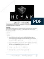 Passo a Passo Homak - Planta Humanizada