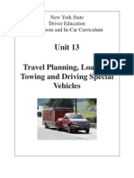 13 nysdtsea unit 13 travel planning loading towing and driving special vehicles