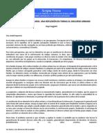 Ciudad Texto y Discurso - Hugo Gaggiotti