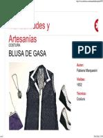 Blusa de Gasa