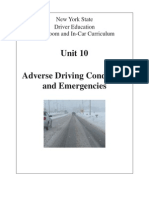 10 nysdtsea unit 10 adverse driving conditions and emergencies
