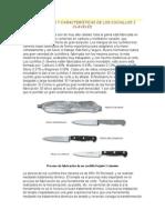 ELABORACIÓN Y CARACTERÍSTICAS DE LOS CUCHILLOS 3 CLAVELES