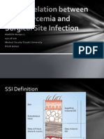 The Correlation Between Hyperglycemia and Surgical Site Infection