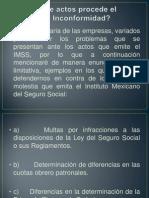 Recursos de Inconformidad Ante El IMSS