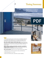 Special-Lite FRP Flush Door Testing Summary Brochure