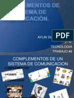 COMPLEMENTOS DE UN SISTEMA DE COMUNICACIÓN