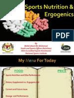 Sports Nutrition and Ergogenics - PPUM
