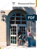 Special-Lite Monumental Door Brochure