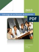 Liderazgo de Un Director de Proyectos