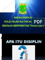 Taklimat Disiplin 2014