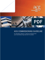 Handbook Commissioning Guideline