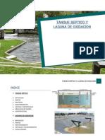 Trabajo de Tanque Septico y Laguna de Oxidacion