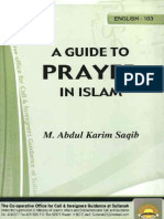 Guide to Prayer in Islam
