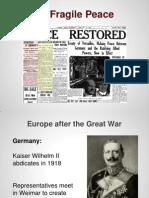 interwar period 1 1