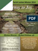 Journey to Joy St. Monica's Parish Lenten Mission 2014