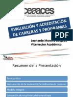 Modelo de Evaluación por carreras CEAACES