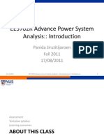 Lec1-Advancne Power System Ybus