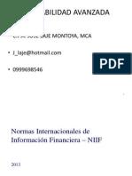 Introducción IFRS - Entregable