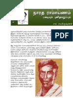 இடைச்சொல் - நாரத ராமாயணம்-பகடியும் புனித மறுப்பும்