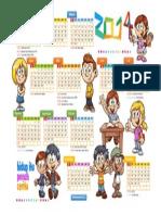 Kalender 2014 darmawan