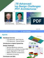 LTE-Advanced Webcast 2011-06-02