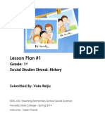 Lesson Plan-History