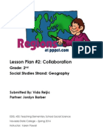 Lesson Plan- Geography