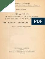 Maria Graham Diario de Su Residencia en Chile