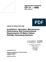 CP 31-1996 Stand by Generating