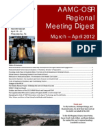 spring 2012 regional meeting digest national