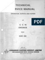1971 C.C.W. Model 290 Technical Engine Manual