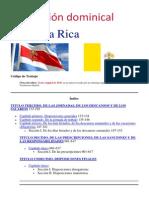 Legislación dominical en Costa Rica