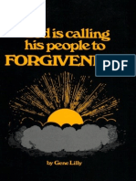 God is Calling His People to Forgiveness