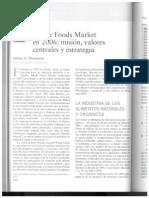 Caso Whole Foods Market