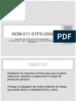 NOM-017-STPS-2008
