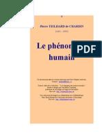 Le Phenomene Humain - Teilhard de Chardin
