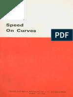 Speed on Curves