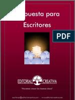 Propuesta Para Escritores - Editorial Creativa
