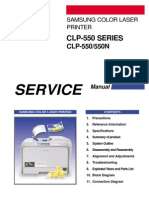 Samsung CLP-550 Service Manual