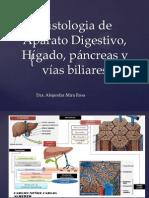 Histologia de Aparato Digestivo, Hígado, páncreas