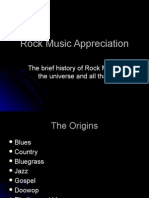 History of Rock Definitions
