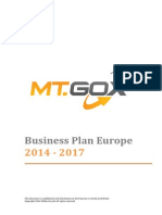 Business Plan MtGox 2014-2017