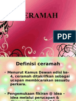 CERAMAH