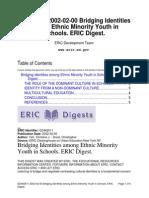 Identities Among Ethnic Minority