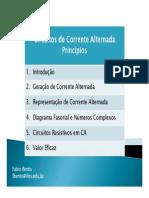 CCA - Princípios de Corrente Alternada