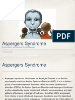 aspergers presentation