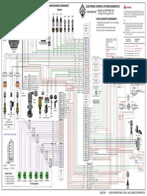 navistar ht 570 engine diagram diagrama dt466e egr transportation engineering engines  diagrama dt466e egr transportation