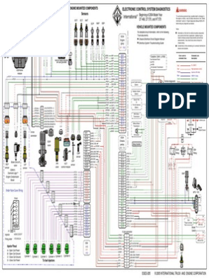 Diagrama Dt466e Egr | Transportation Engineering | EnginesScribd