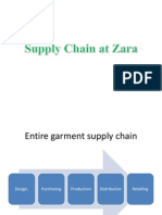 Supply Chain Zara