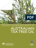 The effectiveness of Australian Tea Tree Oil